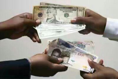 Dollar Naira Exchanging Money