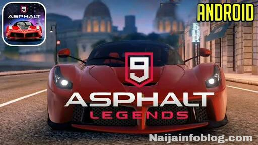 Download Asphalt 9: Legends Apk