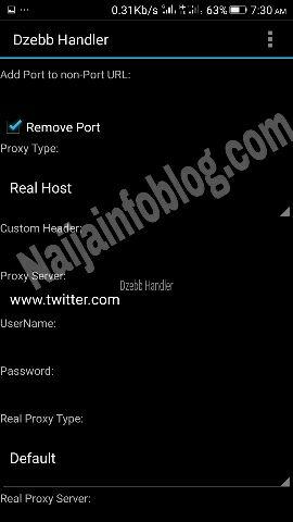Uc mini handler vpn settings