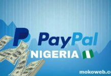 nigeria paypal account receives money