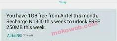 Free 1gb airtel data