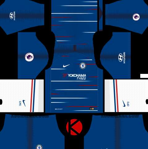 Dls kits and logo for Chelsea