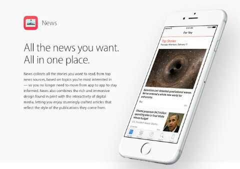 AOL news app