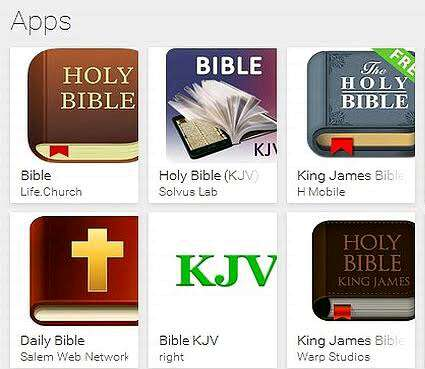 Best offline bible apps for Android