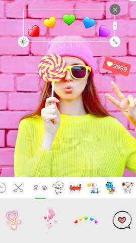 Line camera for Android