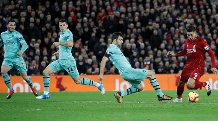 Liverpool vs Arsenal match