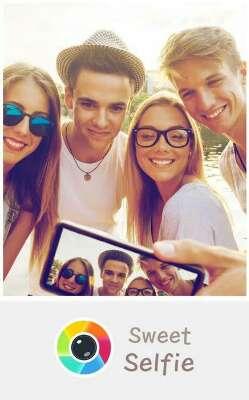 Sweet selfie camera
