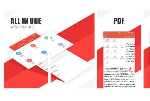 WPS office best  pdf editor app